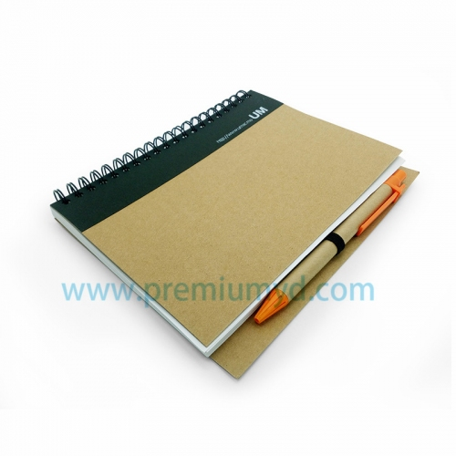 PP Note Book with pen