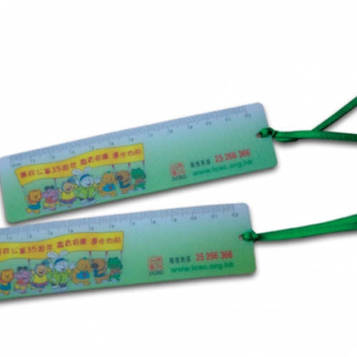 Plastic Bookmark (with ruler)